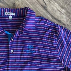 Peter Millar Golf Polo Shirt (XL)